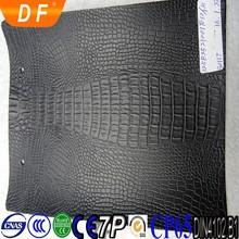 HOT!Crocodile pu synthetic leather shiny for sofa furniture fashion handbag