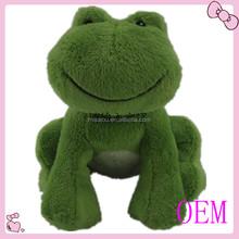 Custom Design Stuffed Soft Frog Plush Toy