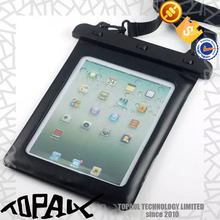 New PVC material case with waterpfoof for Ipad mini, for Ipad 2/3/4 IP68 standard Waterproof case