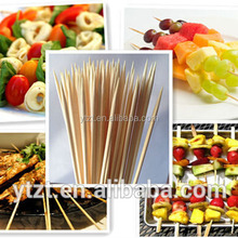 """6"""" Bamboo Skewer Sticks,Royal Brand, 1,000ct, BBQ, Fondue, Hors d'oeuvres,Craft Bamboo Cocktail Sticks"""