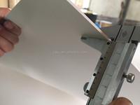 density 0.40 white 2mm PVC foam board / PVC foam sheet for advertising use