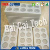 Custom design clear plastic chocolate blister tray packaging