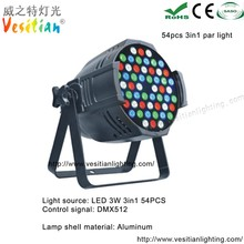 alibaba website led 3 watt decorative recessed 54pcs indoor using 3in1 full color led par light