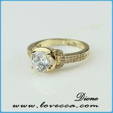 Promotion 2015 Fashion High Quality Magic Cube Zircon Ring Micro Pave Ring Set beautiful diamonds ring