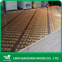 Brown film laminated Water proof panel as shuttering plywood, 12 mm thickness size 8 feet x 4 feet / Marine plywood
