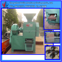 smokeless briquette machine for coal / charcoal dust