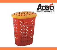 Plastic Laundry Basket With Cover Mould