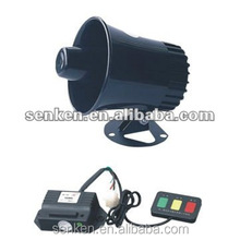 Auto use conventional police siren horn speakers