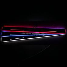 For BMW F22 F34 GT F33 F20 X1 E84 M6 E63 E64 LED moving scuff LED door sill plate light LED door sill