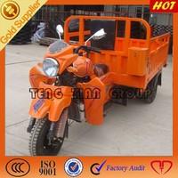 Chinese motorized three wheeled cargo motorbike/fuel boda bodas