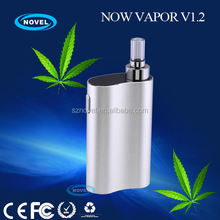 1600mah battery quicker heating vaporizer pandora box mod with a digital OLED screen