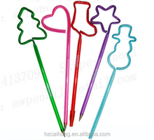 big christmas candy cane promotional ballpoint pen CH-6717