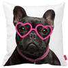 Cheap fashion custom home decorative sofa throw printed 3D dog cushion cover wholesale