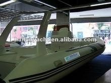 Popular fiberglass lobster and trawler yacht (HLB730)