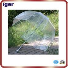 cheap promotional transparent rain umbrella for sale