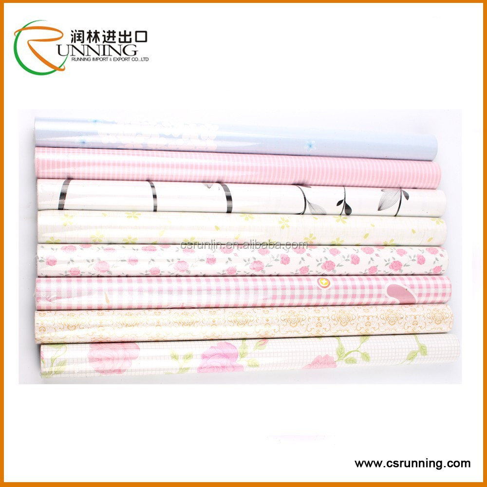 Mur papier pvc imprim feuille autocollante pour meubles auto adh sif rev t - Papier adhesif pour meuble ...