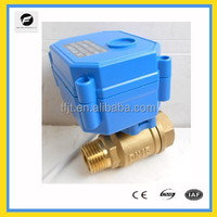 2-way electric motor valve for Irrigation system,cooling/heating system,Low voltage plumbing system