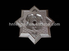 silver Star shape lamp pool ceiling & plastic artistic ps ceiling tile