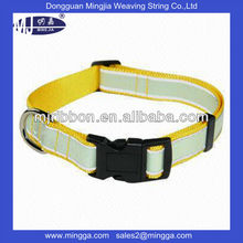 NEW Design Adjustable woven Dog Collar for wholesale