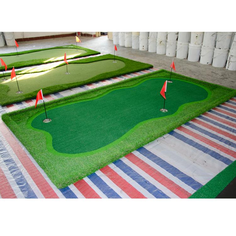 2018 trending produtos relvado sintético artificial tapete tapetes de golfe putting green