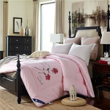 bed sheet Alibaba China wholesale silk quilt and pillowcases new