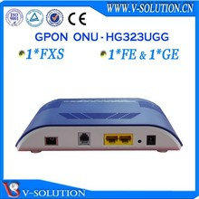 1fxs+1fe+1ge voip ftth gpon ont onu optical network unit