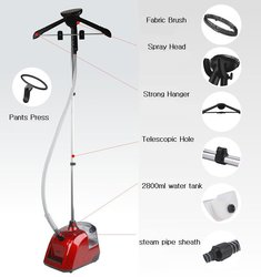 1800W 220-240V 50/60HZ floor standing pedal switch steam pro sterilizing garment upright ironing machines for family