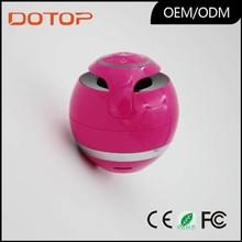 Factory Direct Sales ball shape design led light speaker bluetooth wireless speakers bluetooth