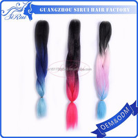 Wholesale prices heat resistant kanekalon jumbo braid hair, xpression braids kanekalon jumbo hair weave