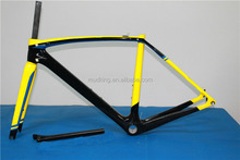 High quality 700C carbon Road Bike Frame super light carbon raod bike frame cheap selling in China