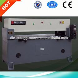 Leather production die cutting press machinety