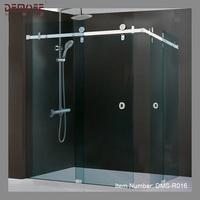 complet shower room price/prefab glass shower door design