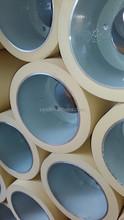 """10""""NBR white rubber roll for rice husker on Aluminium Drum"""