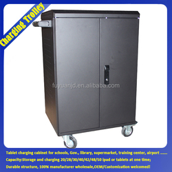 Charge/Store/With Caster/ Sequence New Version Cheap Storage And Charging Cart Sheet Metal Cabinet Design