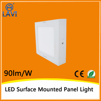 High effiency top quality 6500K 20W surface square mounted led ceiling light