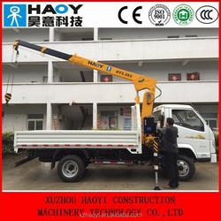 mini crane of 3.2t telescopic crane manufacturer in china with high quality