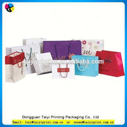 Colorful Printed Craft Paper Shopping Bag