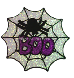 Spiders, pumpkin, the white ghost, the cat, the skeleton Halloween sticker
