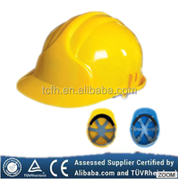 2015 good quality CE construction cheapest safety hard hat with vents