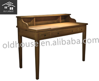 French provincial furniture/antique bedroom furniture oak wood dresser /oak bedroom desk OH-CZ1045