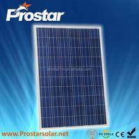 Prostar poly ce ul solar pv module 250W PPS250W