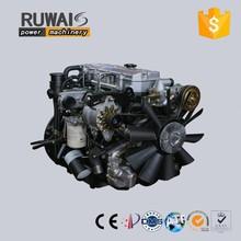 Ruwais 105KW 4 stroke 4 valves diesel engines gasoline engine for marine agriculrural machinery