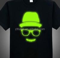 custom reflective tagless heat transfer clothing labels