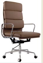 China foshan high black PU leather office executive chair