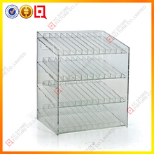 Hot sell acrylic spring loaded e liquid display