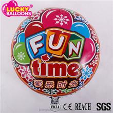 Foil balloon stores promotion custom shape aluminium foil balloon