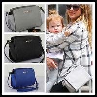 2014 new fashion! celebrity leather shoulder bag, mini side bag for girls