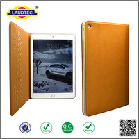 2015 New Arrival Wireless Keyboard With Stand Function Leather Case for iPad Air