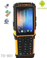 Mobile 3.5 inch touch screen android 4.0 PDA with barcode scanner / RFID reader / bluetooth / wifi /3G