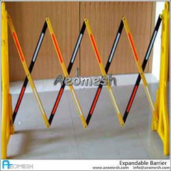 AEOMESH barrier lighting modern factory house safety portable expandable, parking barrier